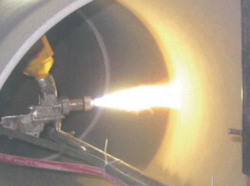 喷焊技术噴焊炼钢厂管道