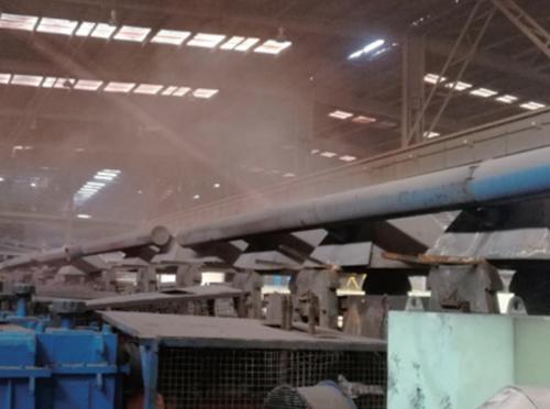 超细水雾除尘的系统组成